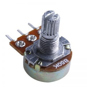 POTENTIOMETER 50K OHMS 15MM SHAFT 300x300 - پتانسیومتر 50 کیلو اهم